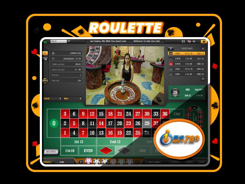 ibet789 myanmar roulette